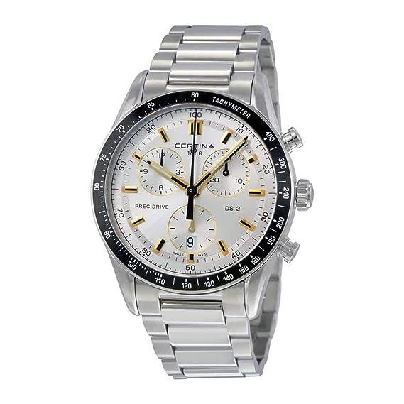 Hombre Certina DS-2 Precidrive c0244471103101 - Reloj cronógrafo: Amazon.es: Relojes