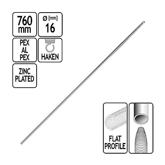 Innenbiegefeder für Mehrschichtverbundrohr 16 x 2 mm Innen Biegefeder Feder