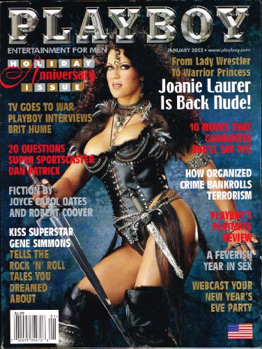 (Playboy Magazine - January 2002 - Joanie Laurer Chyna WWE)