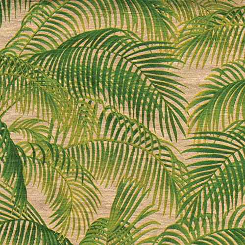 (Caspari Under The Palms 30 in. x 5 ft. Wrapping Paper Rolls in Gold, 3 Rolls Included)