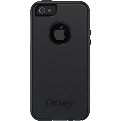 Otterbox Commuter sturzsichere Schutzhülle für Apple iPhone 5/5S/SE, Schwarz