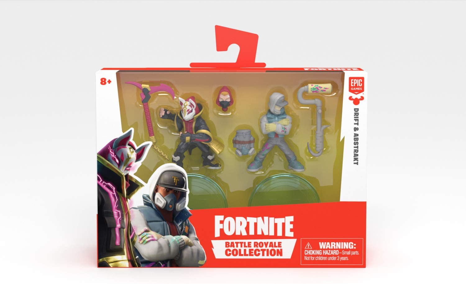 Fortnite Battle Royale Collection Duo Pack Drift and Abstrakt