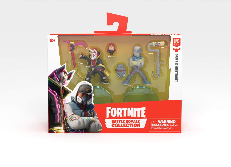 Fortnite Battle Royale Collection Drift Abstrakt 2 Pack Of Action Figures