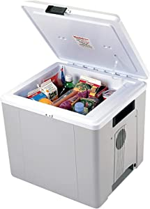 Koolatron Voyager Thermoelectric Iceless 12V Cooler Warmer, 27.5L / 29 Quart Capacity, for Camping, Travel, Truck, SUV, Car, Boat, RV, Trailer, Tailgating, Made in North America