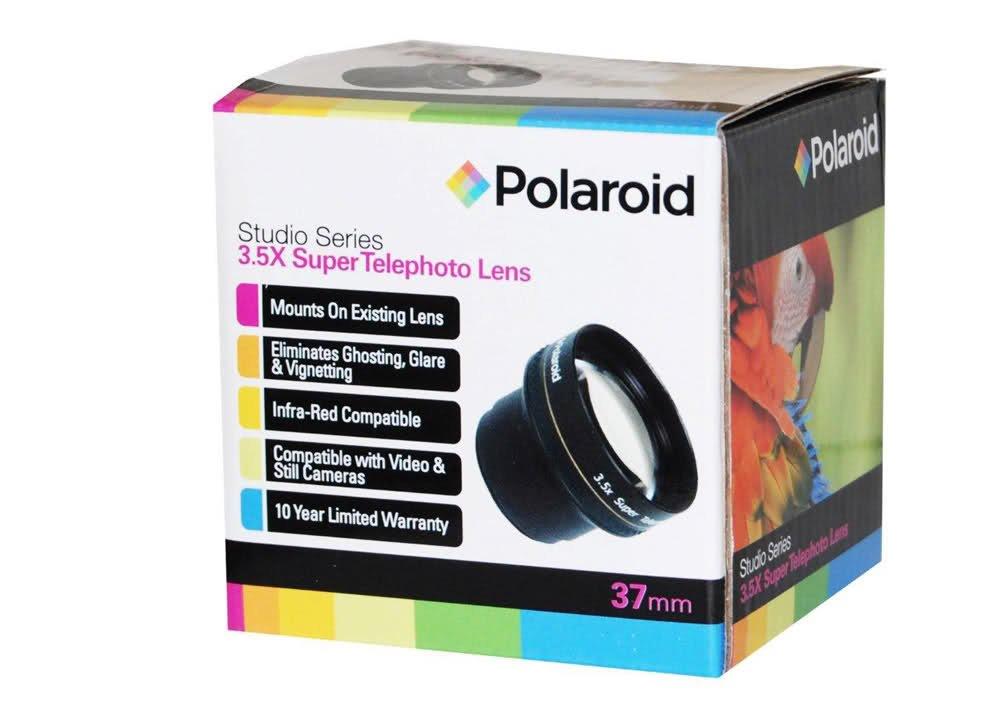 Polaroid Studio Series 3.5x HD Super Telephoto Lens 37mm by Polaroid
