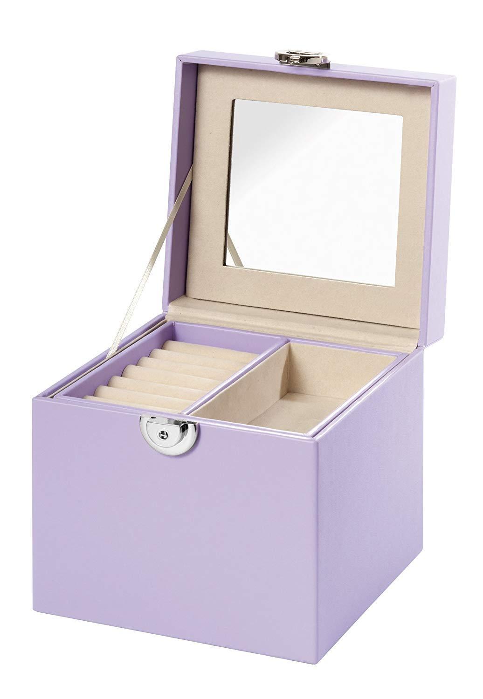lill/à Valigetta portagioie Clauss con specchio 15x15x15cm