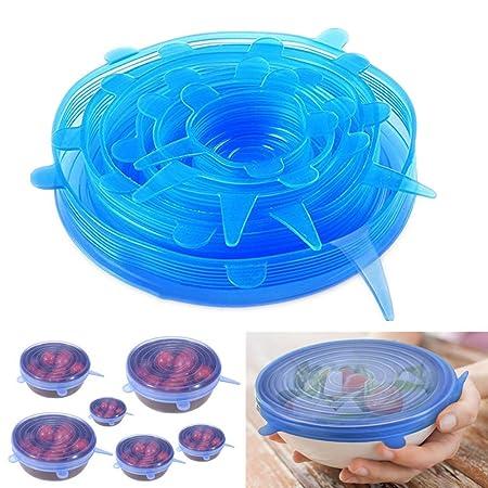 Weiqiao® - Tapas Extensibles de Silicona para microondas ...