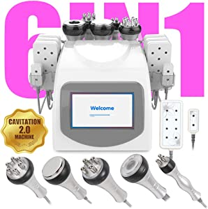 Ariana Spa Supplies 6 in 1 RF Multi-Function - Face & Body Slimming Treatment Device Machine