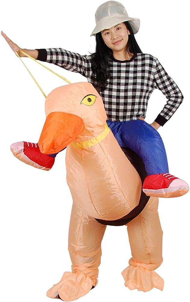 Amazon.com: Hinchable Avestruz Pájaro Rider de Cosplay ...