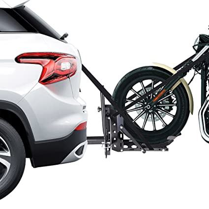 Trailer Hitch Motorcycle Carrier >> Amazon Com Ampersand Shops 800 Lb Capacity Motorcycle