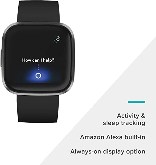 FITBIT Versa 2 Fitness Smartwatch with built in Amazon Alexa All Colours
