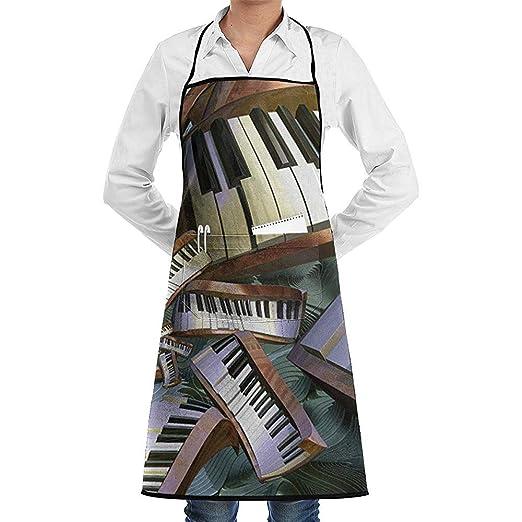 RiRi.H Cocina Chef Música Piano Arte Cuello Cintura Corbata Centro ...
