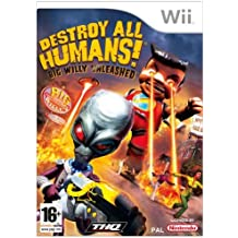 Destroy All Humans! Big Willy Unleashed (Wii) by THQ