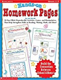 Hands-On Homework Pages, Joan Novelli, 0439043859