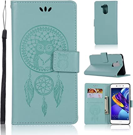 Coque Huawei Honor 6C Pro/V9 Play Teléfono Case-Estampado Faux ...