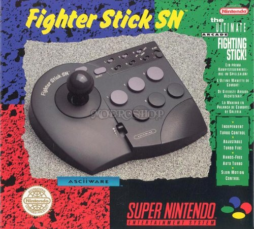 The Ultimate Arcade Fighting Stick - Nintendo Super NES