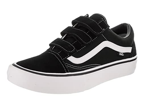 8fd369b3712a67 Vans Men s Old Skool V Pro Sneakers (Black White) Classic Suede Skating  Shoes 9 D(M) US  Buy Online at Low Prices in India - Amazon.in