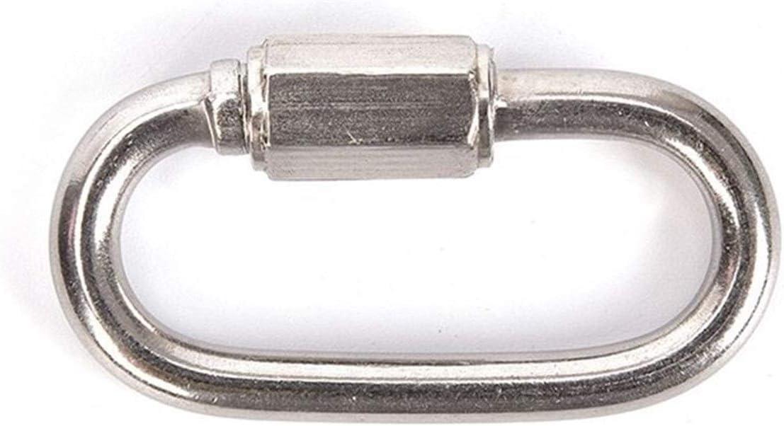 YCBHD 5 Tamaños Material de Escalada mosquetón de seguridad ...