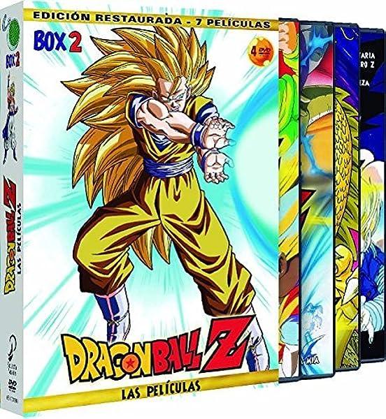 Dragon Ball Z. Las Películas Box 2 [DVD]: Amazon.es: Animación, Daisuke Nishio, Animación: Cine y Series TV