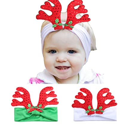 Christmas Headbands For Girls.Accessories Girls 2019 Arrival Christmas Baby Girls