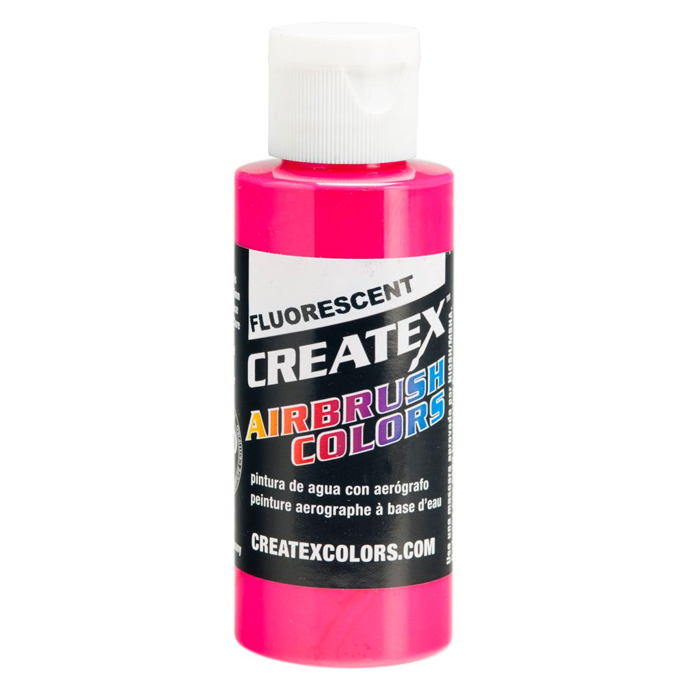 1 Gal. of Createx Fluorescent Magenta #5406-GL CREATEX AIRBRUSH COLORS Hobby Craft Art PAINT