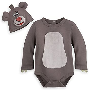 b9924c80502 Amazon.com  Disney Baloo Costume Bodysuit for Baby - The Jungle Book ...