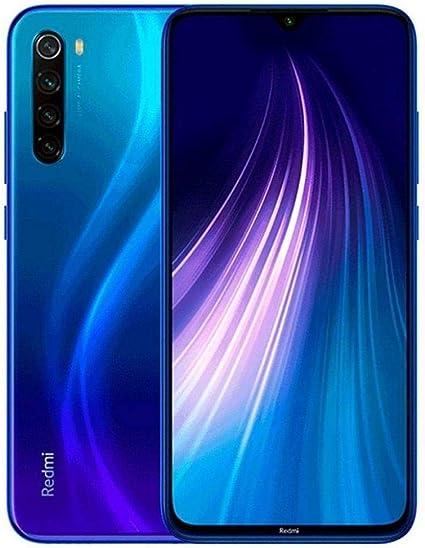 Xiaomi Redmi Note 8 Smartphone 4 Gb 128 Gb Blu Neptune Blue