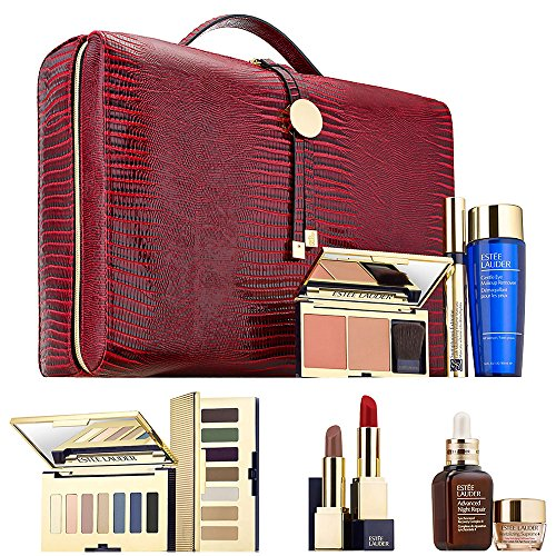 Estee Lauder 12 Pcs Gift Set Pure Color Envy Lipstick Eyesha