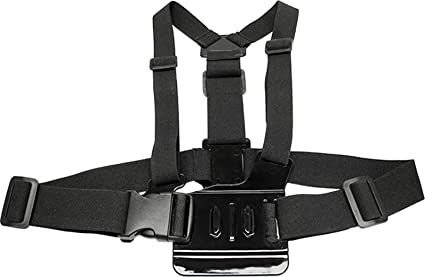 MaximalPower Chest Strap - Arnés para GoPro HD Hero, Negro: Amazon ...