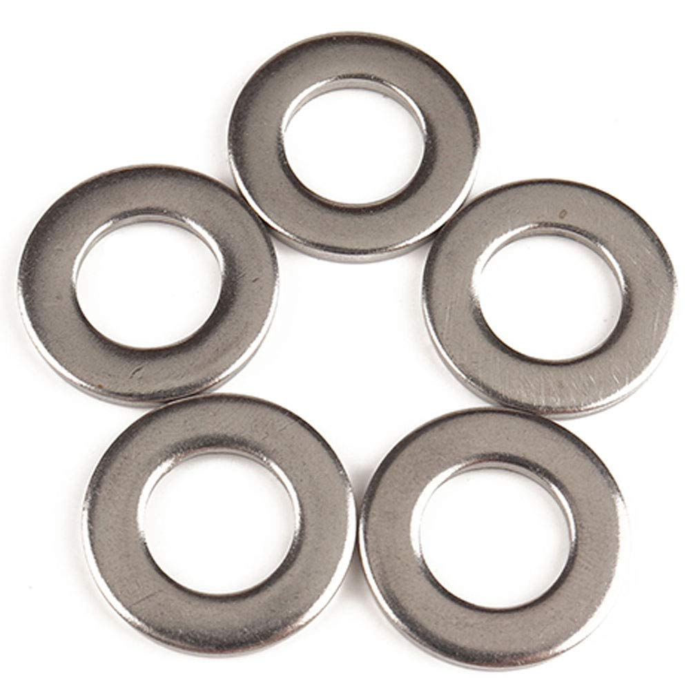 DishyKooker A2273 684pcs Assorted Piece Spacer M2-M12 Flat Stainless Steel Circular Form Washers Kit 9 Specifications AutoAccessory