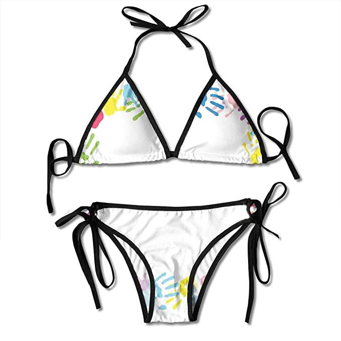 39a8b48f857 Image Unavailable. Image not available for. Color: Women's Swimsuit Two  Pieces Bikini Set, ...