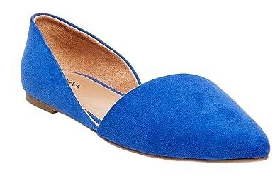 6993194020c Merona Women s Poppy D Orsay Pointed Toe Ballet Flats (5.5