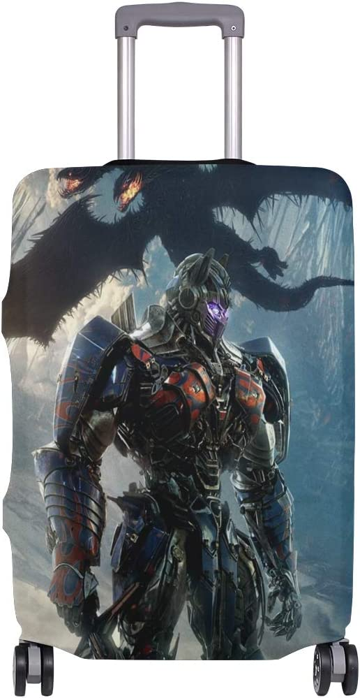 Transformers Cosmic Warrior Dinosaur suitcase cover elastic suitcase cover zipper luggage case removable cleaning suitable for 29-32 trunk cover