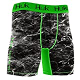 HUK Performance Fishing Men's Elements Performance Boxer Jock, Blacktip, X-Large
