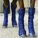 William Hunter Equestrian Travel Sure Economy Travel Boots, in Navy, Medium
