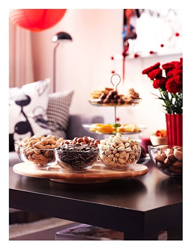 IKEA SNUDDA - Lazy Susan, madera maciza de abedul, rotación ...