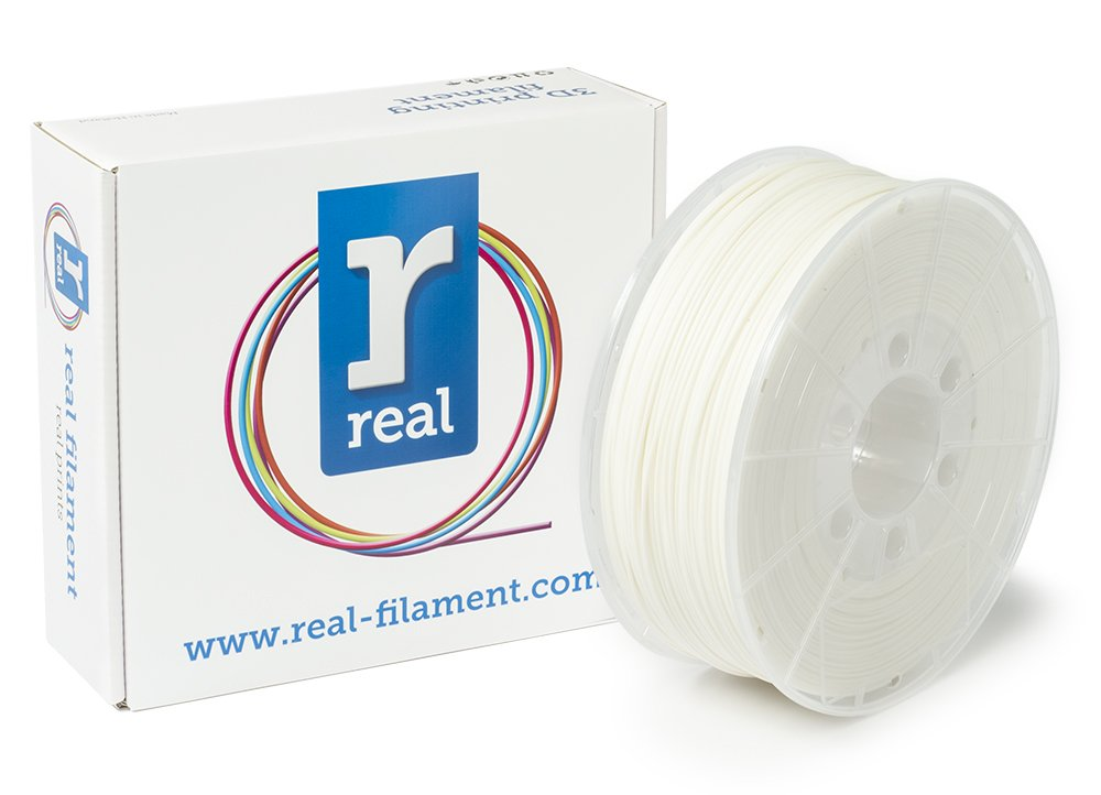 Real Filament 8719128324814 Real PLA, Spool of 1 kg, 1.75 mm, White NLPLAWHITE1000MM175