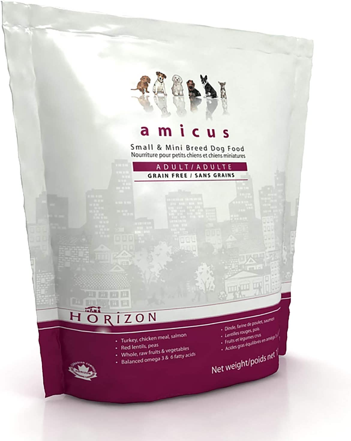 Horizon PET Nutrition Amicus Small and Micro Breed, All Life Stage Dry Dog Food