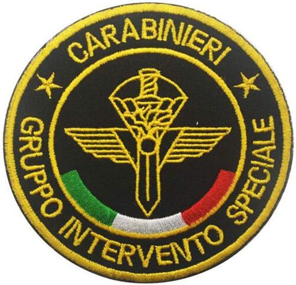 Toppa Tattica Ricamata con Scritta Special Forces Italiana Ohrong Gruppo Intervento Speciale Carabinieri
