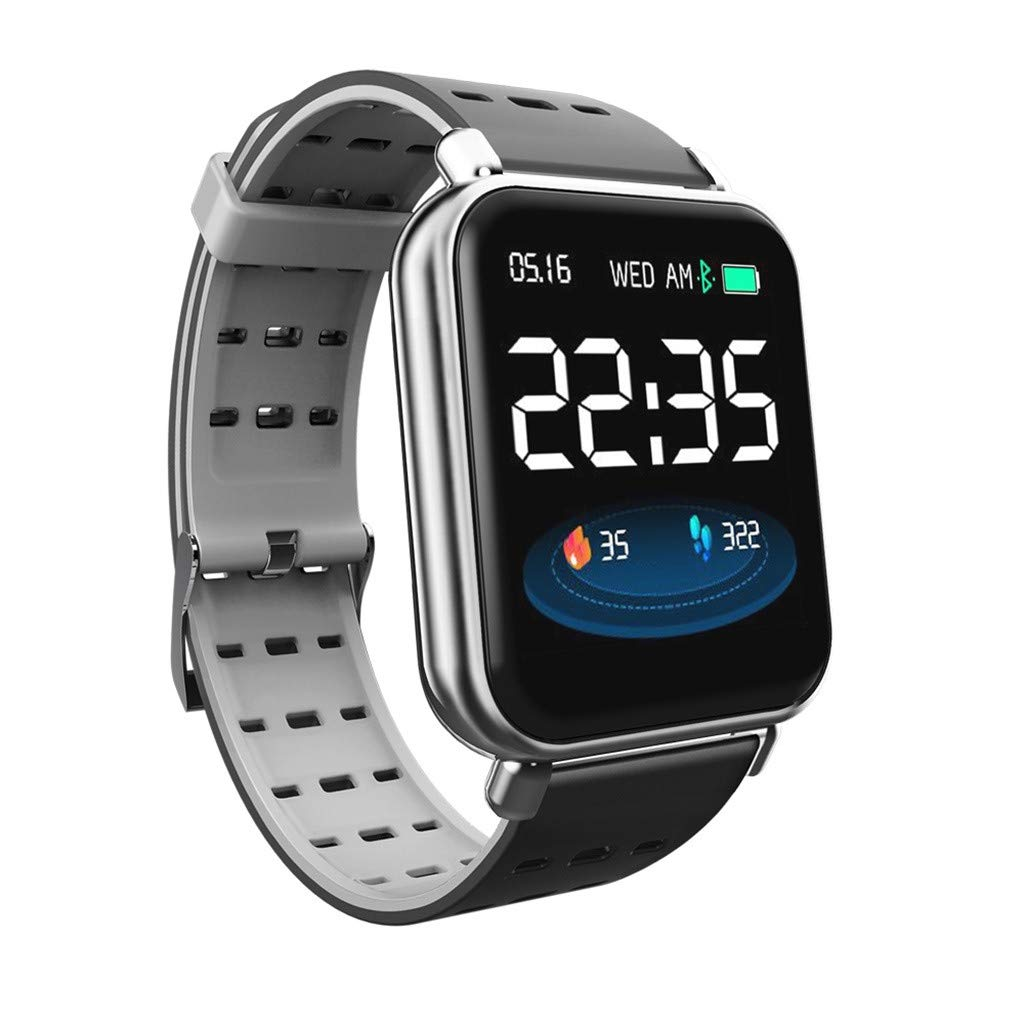 Waterproof Bluetooth Smart Watch Heart Rate Monitor Mate for Android Y6 Pro