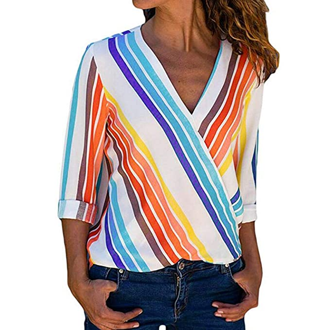 Mujer Blusa Camiseta Tops Vintage Bohemian Traje de otoño Playa,Sonnena Camisa de Manga Corta