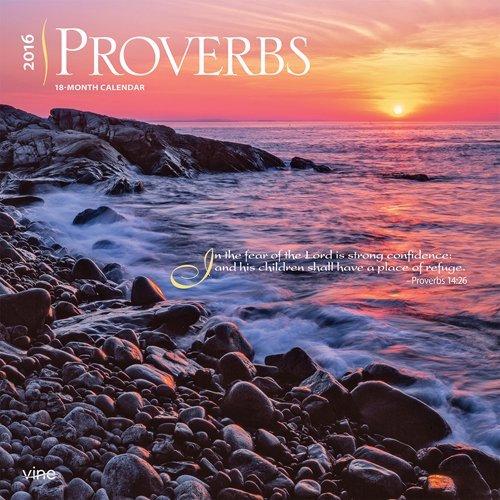Proverbs 2016 Wall Calendar – Bible Verses