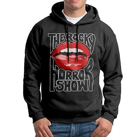 Edgechic The Rocky Horror Show Hombres Sudadera Negro Sudadera con ...