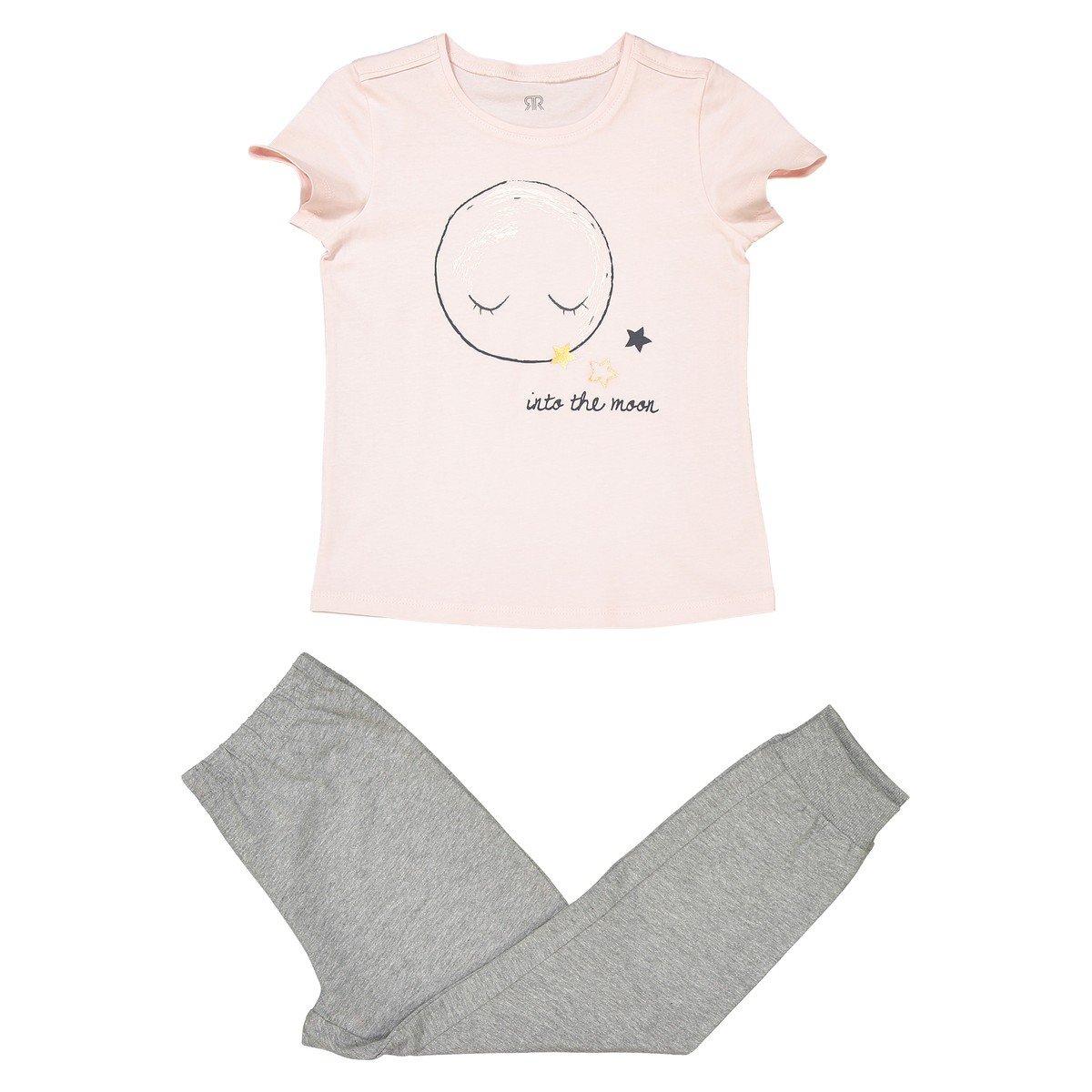 3-12 Years La Redoute Collections Big Girls Two-Tone Pyjamas