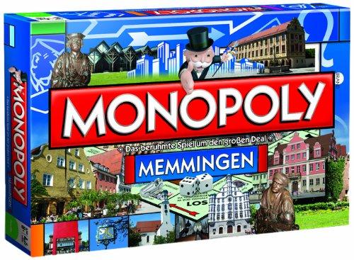 Winning Moves 41948 - Monopoly Memmingen