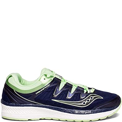 SAUCONY WOMENS TRIUMPH ISO 4 WHITE BLUE SHOES 2018 **FREE