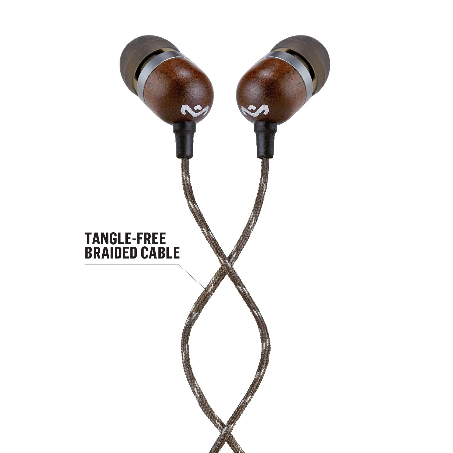 House Of Marley Smile Jamaica Wired In Ear Headphones Wiring Money To Line Microphone With 1 Button Remote Noise Isolating Durable Tangle Free Cable