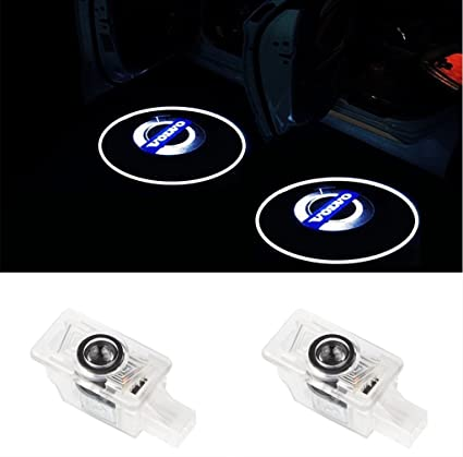 Iluminación de la entrada proyector 3D HD Puerta Logo Light (1par ...