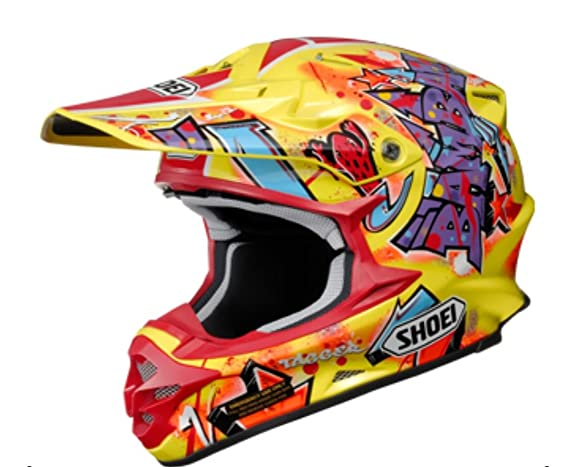 Amazon.com: SHOEI Vfx-w Barcia Tc-1 Size:XXL Motorcycle Off-road-helmet: Automotive