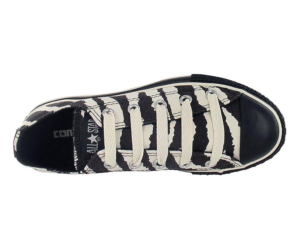 Converse Chuck Taylor All Star Zebra Ox Kids Shoe